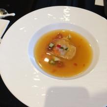 スープ、見た目も綺麗