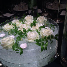 テーブル花