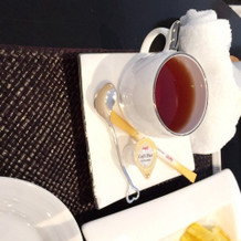 紅茶も頂きました。