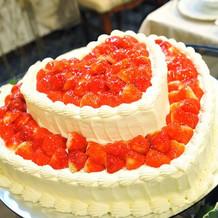 おいしいケーキもあります笑