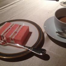 ケーキが可愛く大好評でした