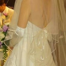 悩みに悩んだウェディングドレス!満足!