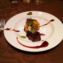 黒毛和牛フィレ肉とロース肉のグリエ