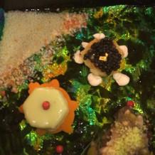 キャビアとじゃが芋のガレット