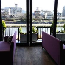 カフェのような待ち合い室!