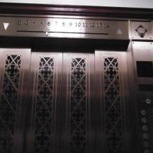 エレベーターすてき。