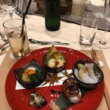 いちおしのフォアグラ寿司