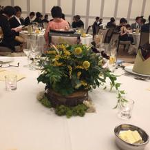 会場装花 ゲストテーブル