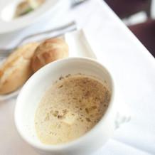 パン、スープ
