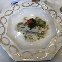 お魚柔らかくて食べやすかったです。