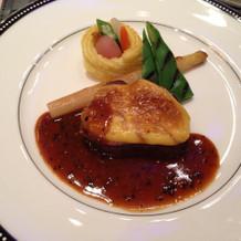 メインのお肉料理。美味しかったです!
