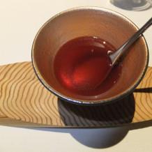 ハートがスープで溶けます