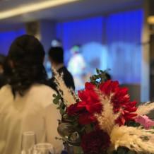 ゲスト目線の装花
