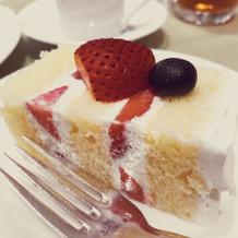 デザート系が本当においしい。