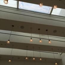 挙式会場 天井