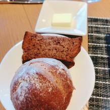 パンも焼きたてです
