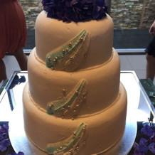 ウェディングケーキ 海イメージ