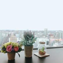 高層階のため眺めがすごく気持ちいいです。