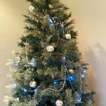 素敵なクリスマスツリーがありました。