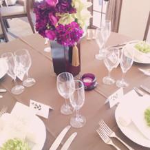 可愛いテーブル。