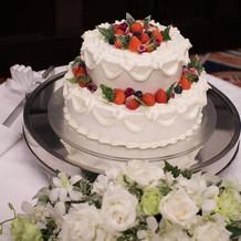 ケーキ装飾
