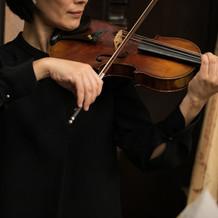 生演奏バイオリン