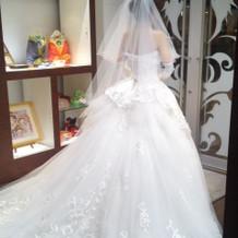 挙式プランのドレス