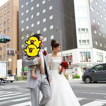 幸せの横断歩道