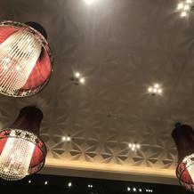 ブラウンベース会場の天井