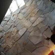 石造りのチャペル。