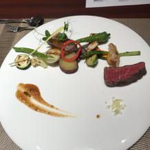 お肉2種と焼き野菜
