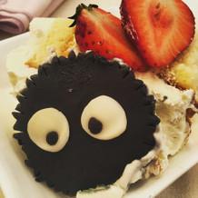 ケーキもかわいかったです