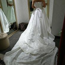 本番のドレス