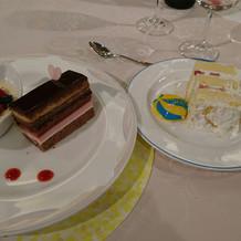 ウェディングケーキ+デザート♪
