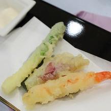 天ぷらバー