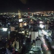 夜景がとっても綺麗です