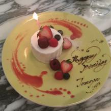 日比谷パレスで誕生日お祝い♪