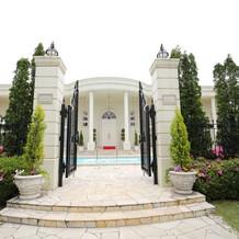 ホワイトハウス入口