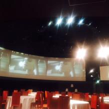 まるで映画館の会場