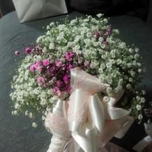 お花も自分好みに。