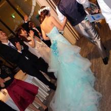 素敵なドレスで好評だった