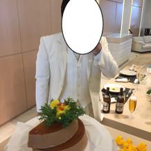ケーキカットの代わりにソープカット