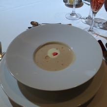 フェアで出てきたスープ