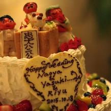 特別ウエディングケーキ