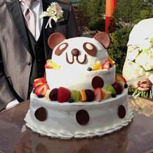 写真写りもよかったケーキ