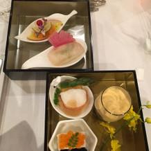 お箸で食べるコース料理