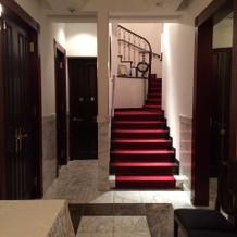 入り口すぐの廊下