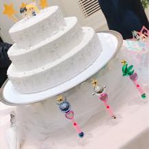 ウェディングケーキです!