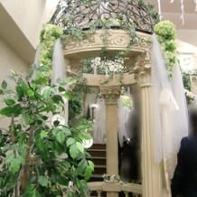 階段周りの飾り1