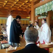 神社での挙式